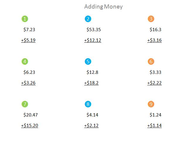 Bro and Sis Math Club: Adding Money