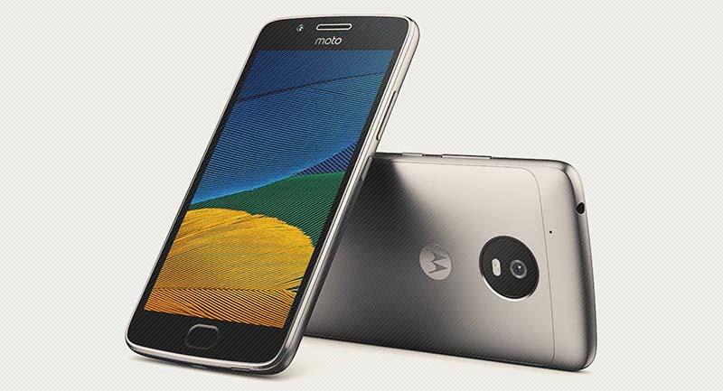 Ponsel Terjangkau Moto G5