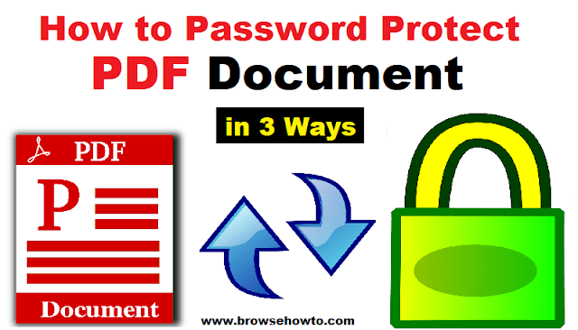 How to password protect a PDF file easily in 3 ways