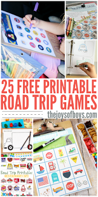 Road trip games by The Joys of Boys