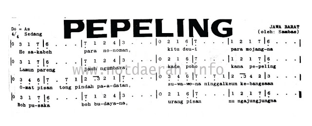 Not Angka Pepeling