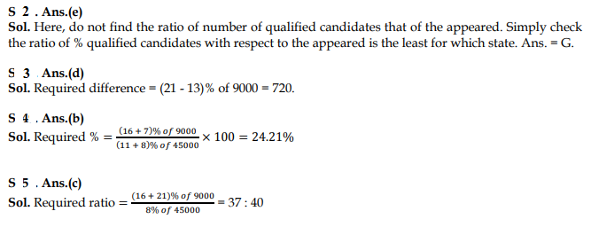 Pie graph question and answer example