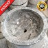 Wastafel marmer tulungagung natural motif abu abu asli batualam ragilshop