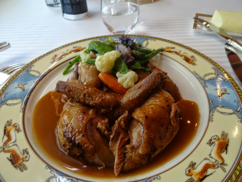 Plat restaurant Paul Bocuse à Collonges.