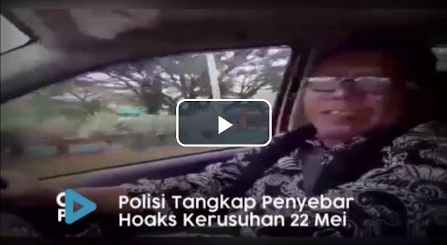 Polisi Tangkap Penyebar Hoaks 22 Mei Terjadi Kerusuhan