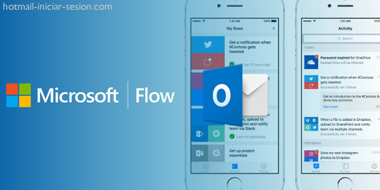 Microsoft Flow en tu cuenta de Outlook