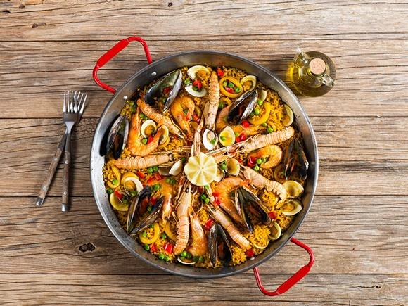 Paella Rapide Aux Crevettes