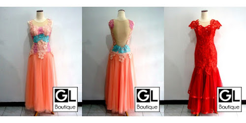 HARGA SEWA GAUN LONG DRESS