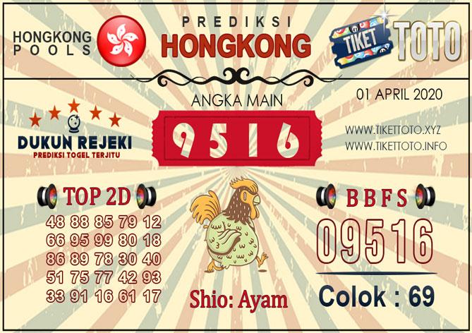 Prediksi Togel HONGKONG TIKETTOTO 01 APRIL 2020