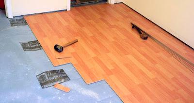 Wood Plank Flooring Install
