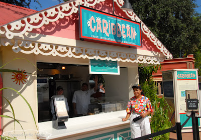 Caribbean Booth at Epcot's Food & Wine Festival