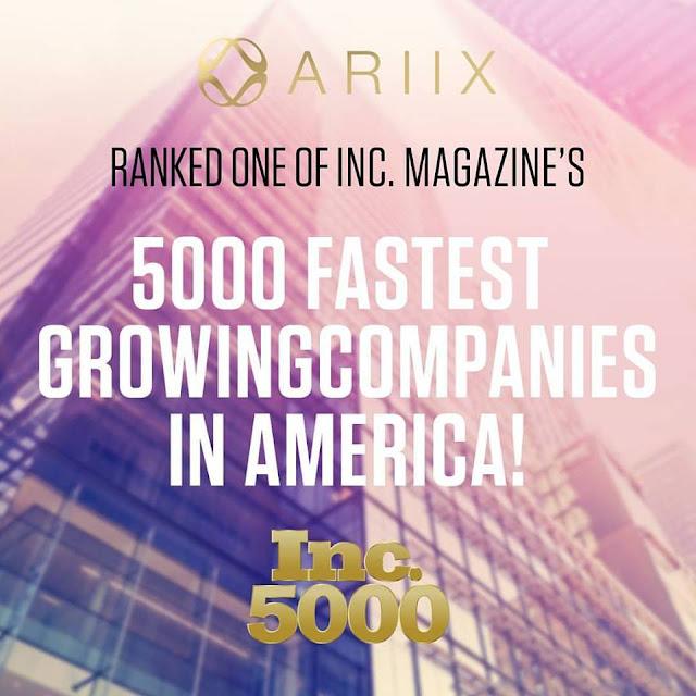 Inc5000 ARIIX