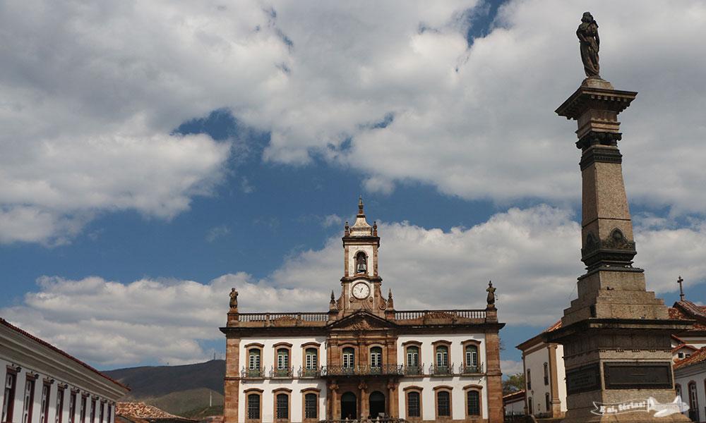 Ouro Preto, o ponto central da Estrada Real, Minas Gerais
