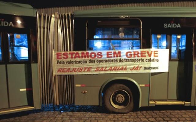 É verdade que haverá greve ou paralisação dos ônibus em Curitiba e região?