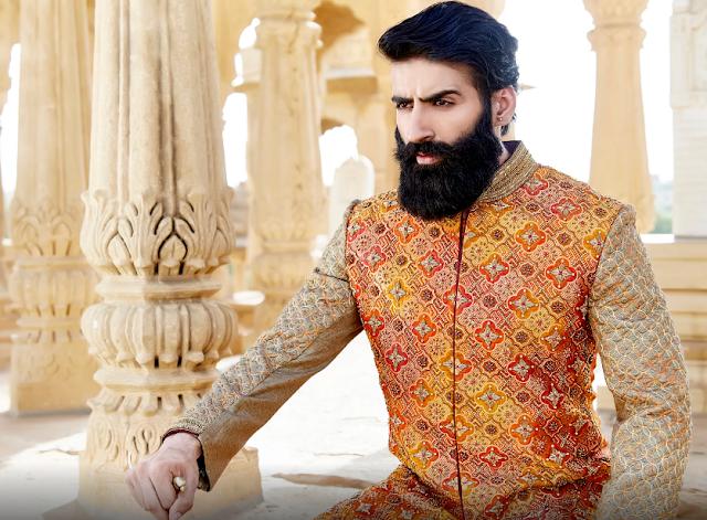 Homem de estilo: O luxo tradicional indiano