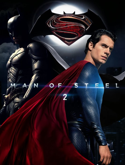 Man Of Steel 2: Batman vs Superman Poster - Fan Made