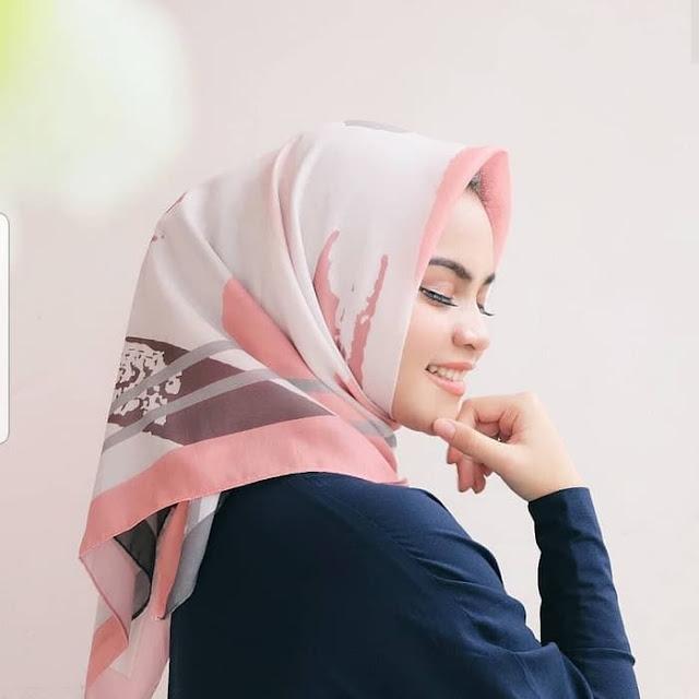 Jilbab Segi Empat Voal Vimbre 7 Termurah Harga Grosir