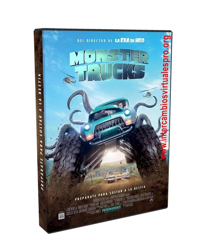 Monster Trucks poster box cover