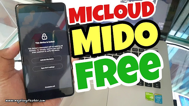 UNLOCK MICLOUD REDMI NOTE 4/4X SNAPDRAGON (MIDO) CLEAN SENSOR ON WORK 100% FREE