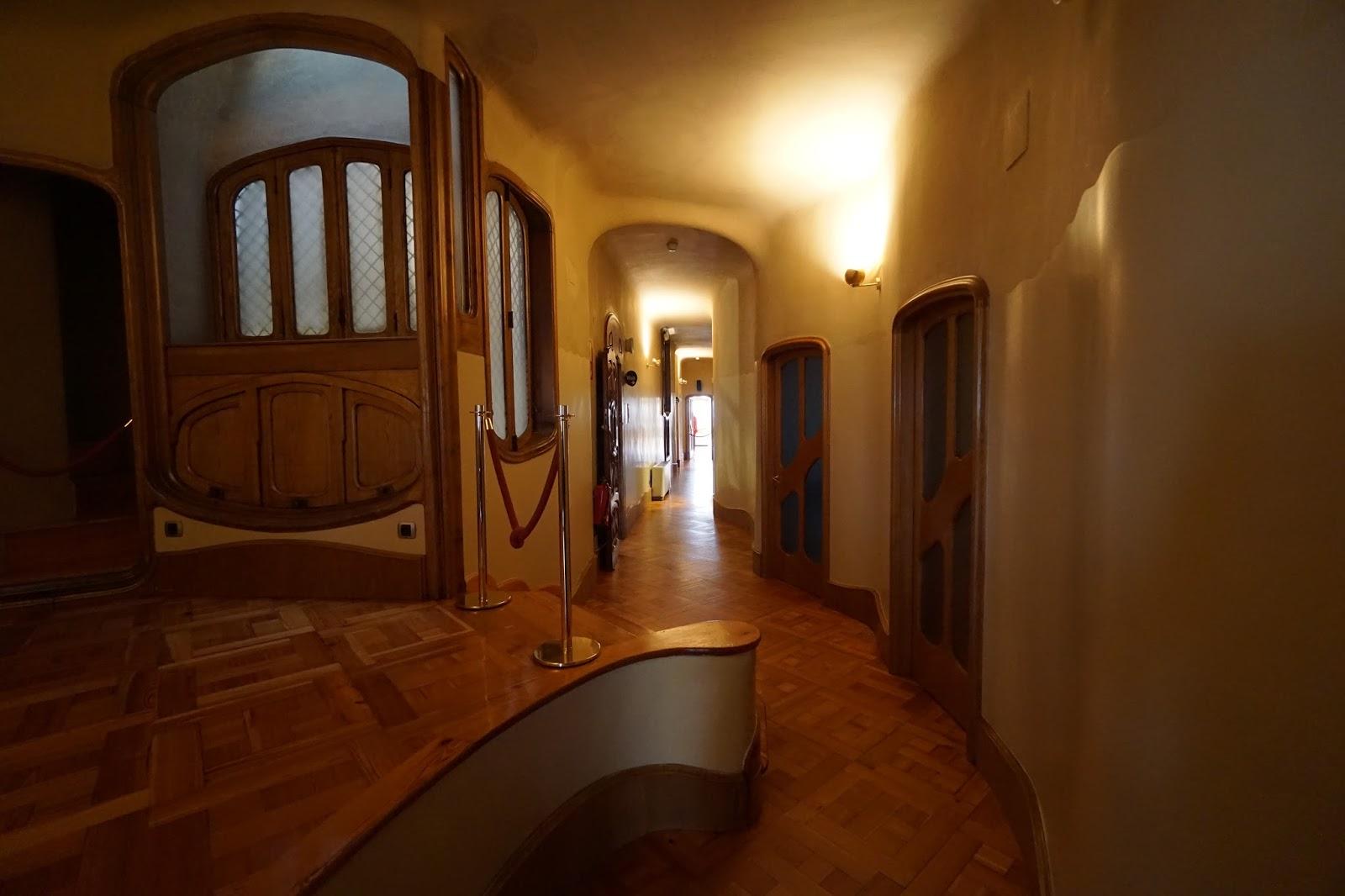カサ・バトリョ(Casa Batlló) 廊下