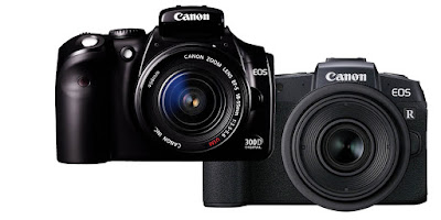 Breaking barriers: EOS 300D and EOS RP