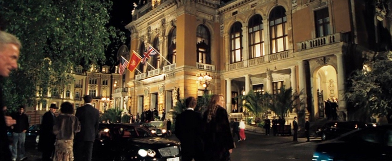 Locations used in casino royale near casino