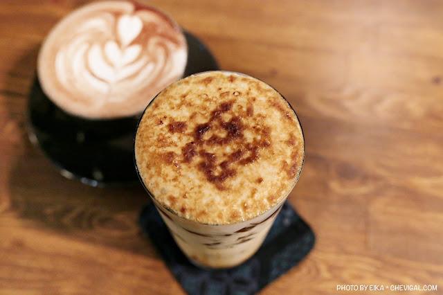 IMG 9580 - 啥!顛覆吧。沒有招牌的超神秘咖啡廳!超酷的黑糖expresso粉粿是深夜限定!