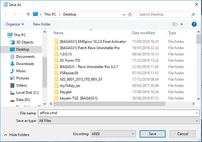 Download kmspico 2018 windows 10 bagas31 | Cara Aktivasi
