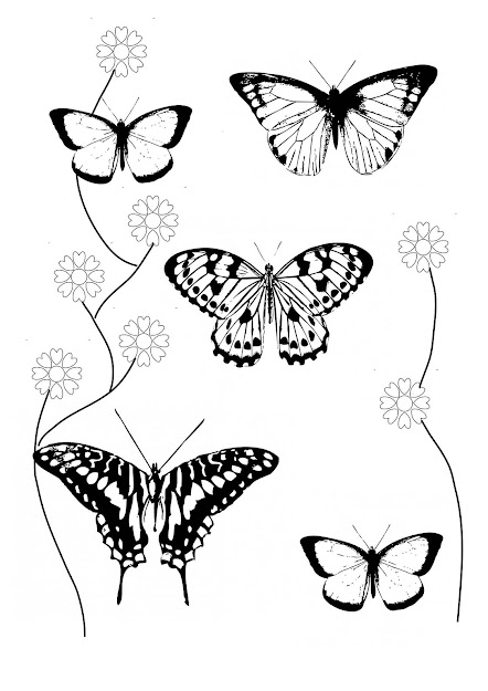 Butterfly Coloring Pages Throughout The Most Amazing Along With Beautiful  Flowers And Butterflies Coloring