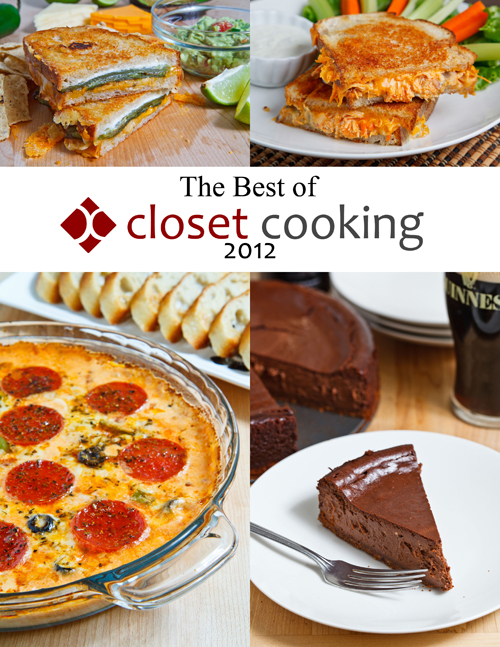 The Best of Closet Cooking 2012 eCookbook - Get your copy now!