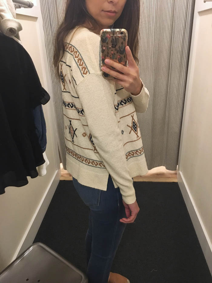 madewell spring sweater