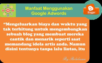 Manfaat Menggunakan Google Adwords