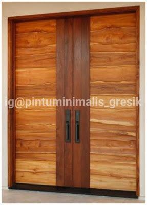 60 Lebih Model Pintu Kayu Jati Terbaru Minimalis dan Elegan