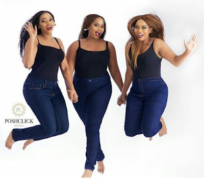 Photos: Check out these stunning identical Nigerian triplets