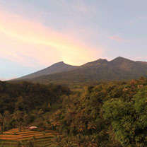 Get the completely landscape but about senaru that too nearly amongst Rinjani Trek Center  BestplacetovisitinIndonesia; Local Day Tours