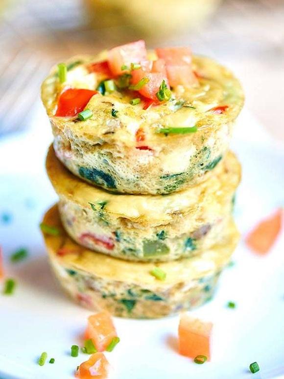 Saludables Muffins De Huevo