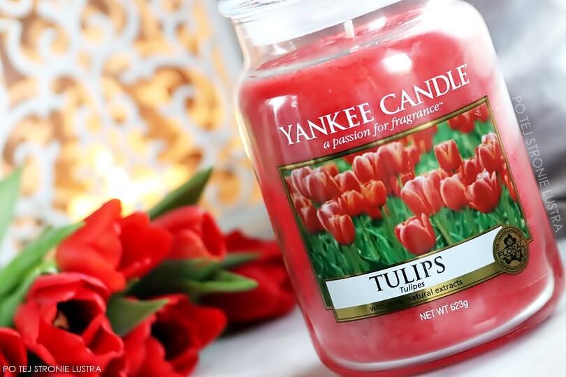 świeca yankee candle tulips