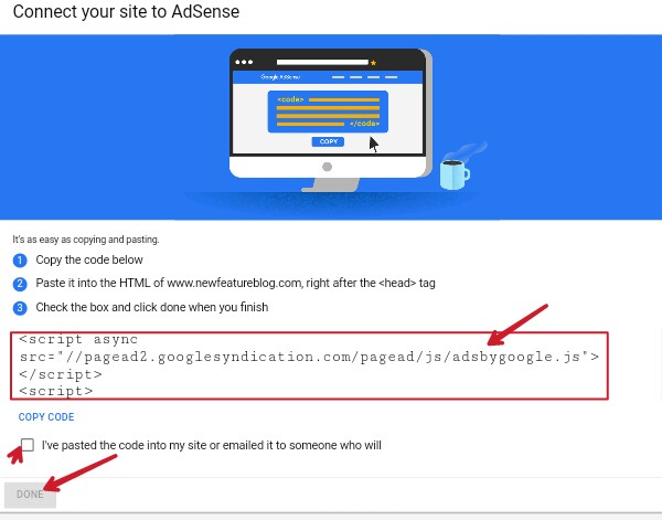 copy-adsense-code-and-paste-into-site-below-head-tag-and-save