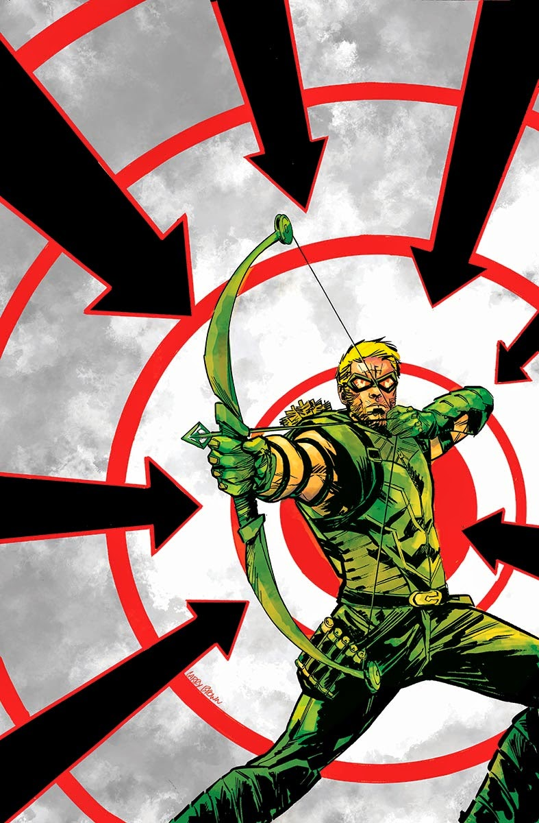 Green arrow 35 cover larry brown new creative team