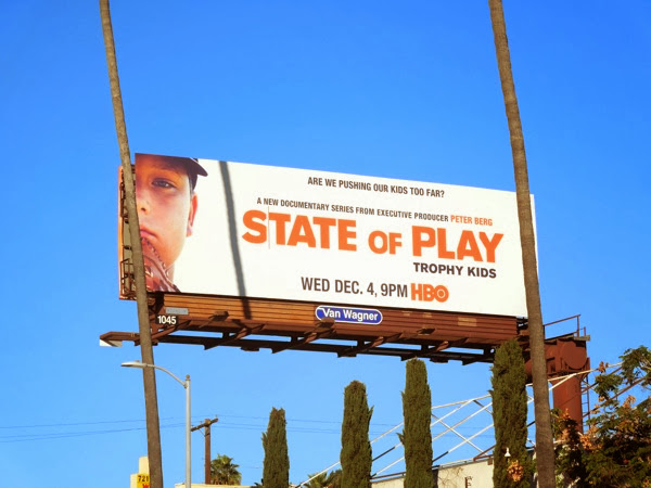 State of Play Trophy Kids billboard