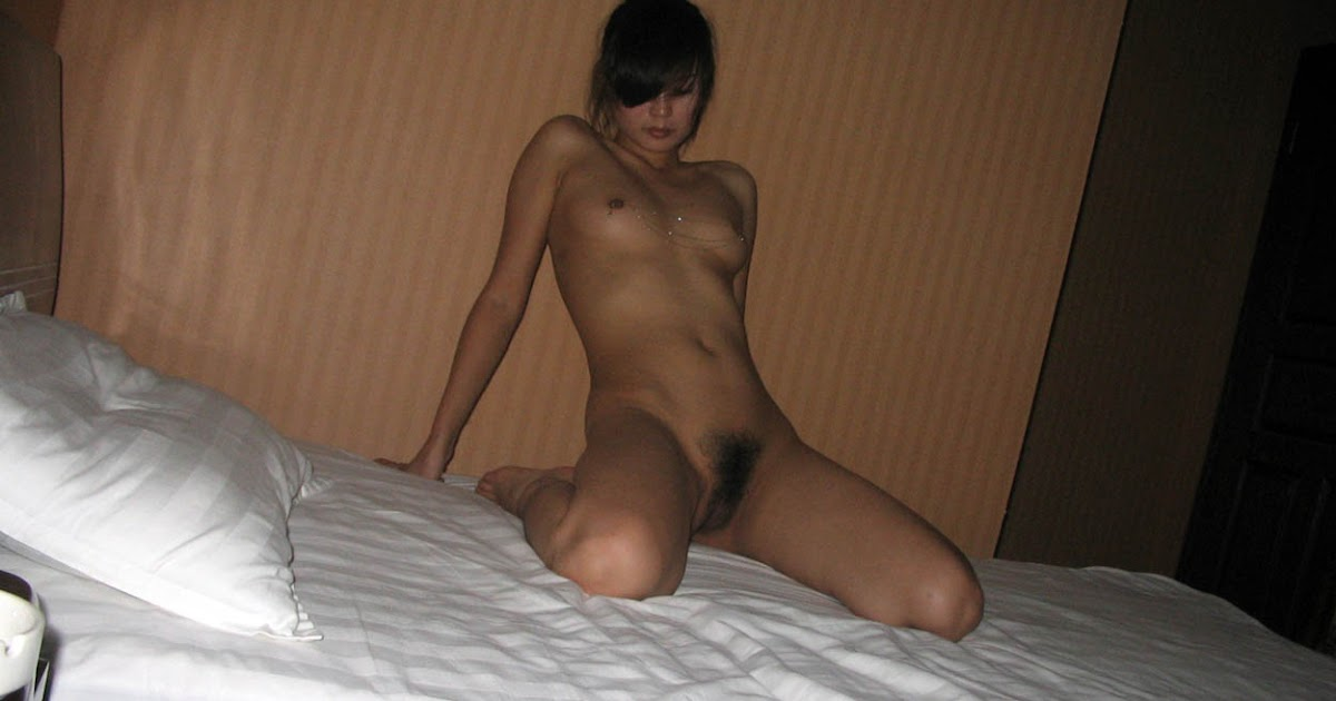 beautiful asian hairy pussy posing