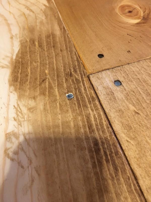Hood Creek Log Cabin DIY Wide Plank Pine Floors Part 2 Finishing