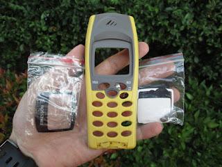 Casing Ericsson Hiu R310s Baru Plus Kaca LCD Langka