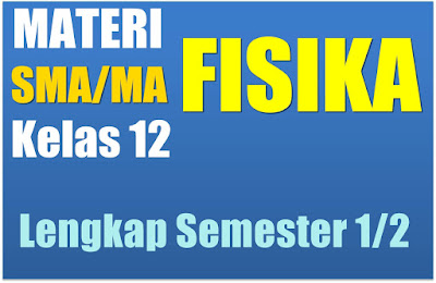 Download Materi Pelajaran Fisika SMA Semester 1/2 Kelas 12