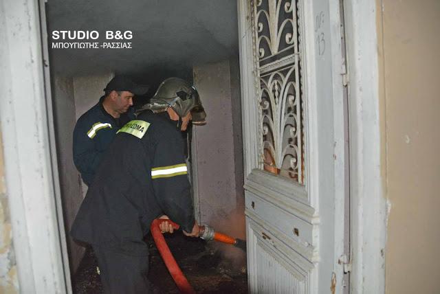 Πυρκαγιά σε σπίτι στο Ν. Ροεινό