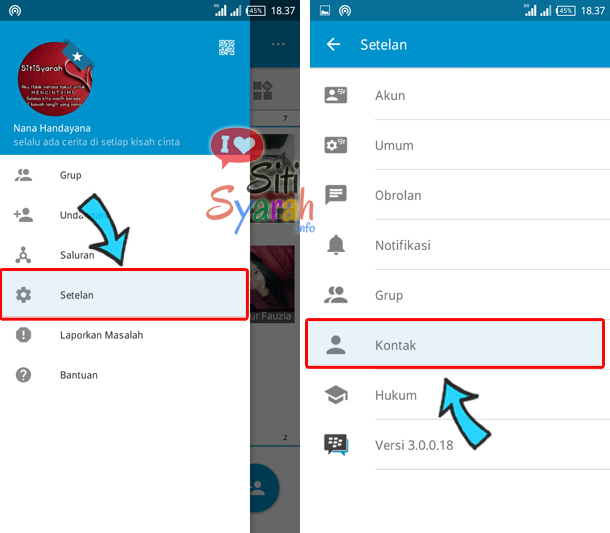 agar kontak bbm tidak muncul di phonebook android
