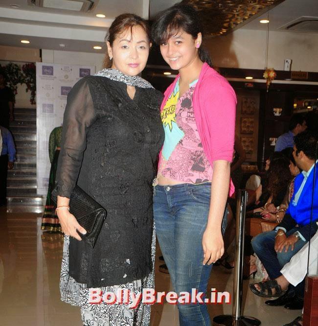 Sahila Chadha with her daughter, Hrishita Bhatt at Satyam Shivam Sundaram Jewellery Launch