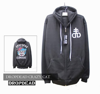 Jaket Fleece Hoodie - Dropdead DROP004