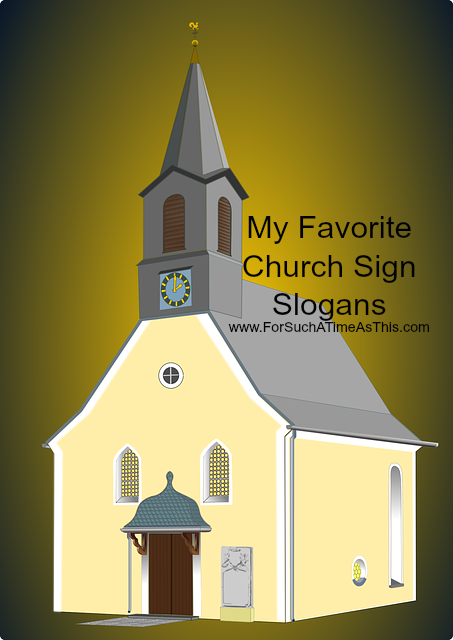 Church Sign Slogans