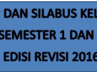Downlo RPP dan Silabus Kelas 6 Semester 1 dan 2 Kurikulum 13 Revisi 2016